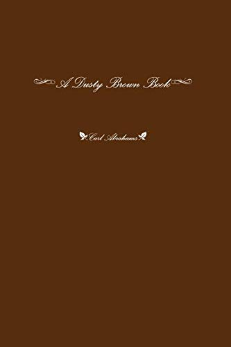9781291523577: A Dusty Brown Book