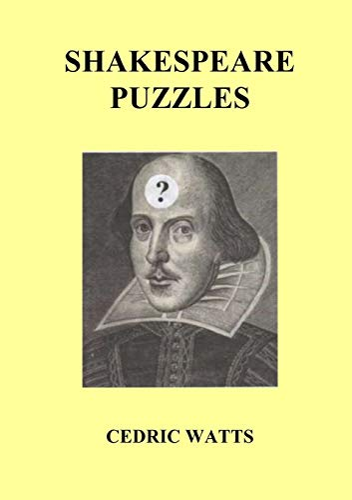 Shakespeare Puzzles: Cedric Watts