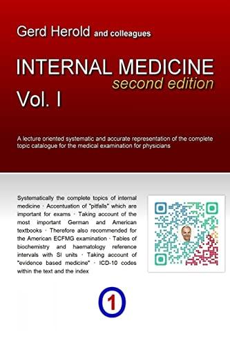 9781291727333: HEROLD's Internal Medicine (Second Edition) - Vol. 1