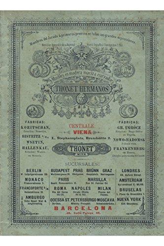 9781291796544: Hermanos Thonet. Catalogo de Venta de 1891.