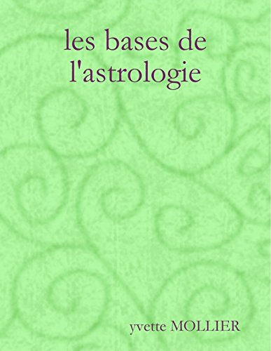 9781291969009: les bases de l'astrologie