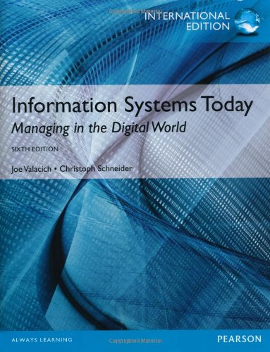 9781292000008: Information Systems Today