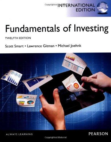 Fundamentals of Investing Plus MyFinanceLab with Pearson