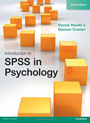 9781292000695: Introduction to SPSS in Psychology, 6th edition