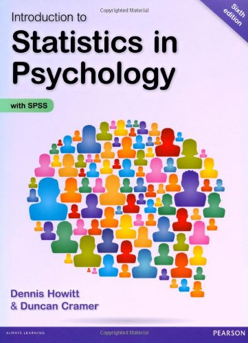 9781292000749: Introduction to Statistics in Psychology