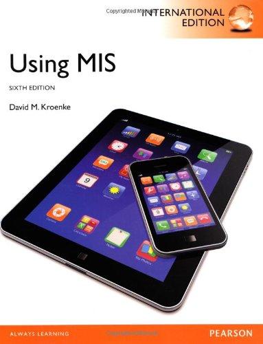 9781292001401: Using MIS, International Edition