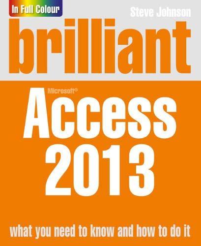 9781292001531: Brilliant Access 2013 (Brilliant Computing)