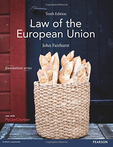 9781292001623: Law of the European Union (Foundation Studies in Law Series)