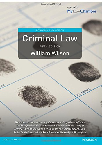 9781292001944: Criminal Law: Uk Edition (Longman Law Series)