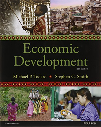 Economic Development,12/Ed- (Pb): Todaro: Todaro