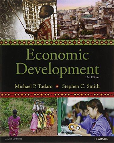 9781292002972: Economic Development, 12th edition (The Pearson Series in Economics)
