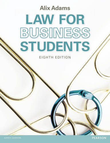 Law for Business Students MyLawChamber Pack (Mixed: Alix Adams