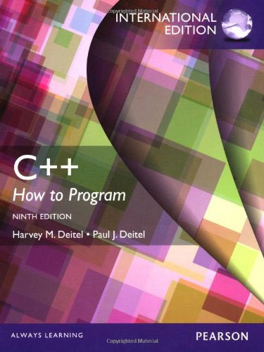 9781292004808: C++: How to Program with MyProgrammingLab and eText: International Edition