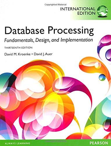 9781292004860: Database Processing: Fundamentals, Design, and Implementation