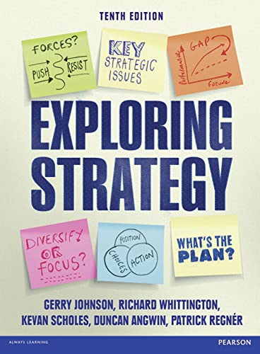 9781292007014: Exploring Strategy. Text Only Plus eText and MyStrategyLab