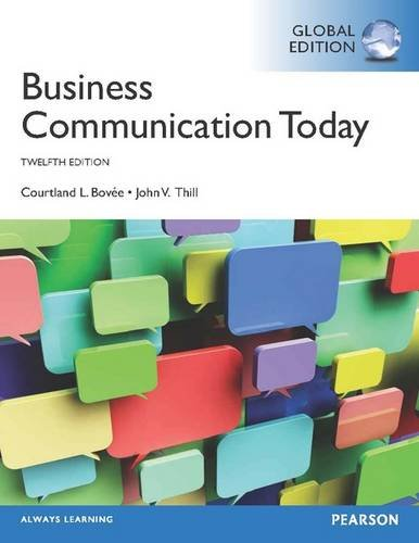9781292009025: Business Communication Today with MyBCommLab, Global Edition