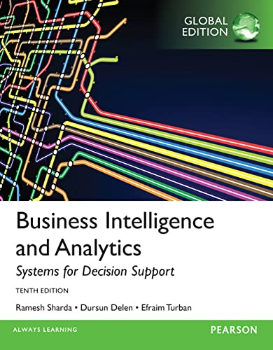 9781292009209: Business Intelligence and Analytics: Systems for Decision Support
