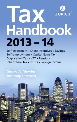 Zurich Tax Handbook 2013-14 (1292009306) by Mowels, Gerald A.; Foreman, Tony