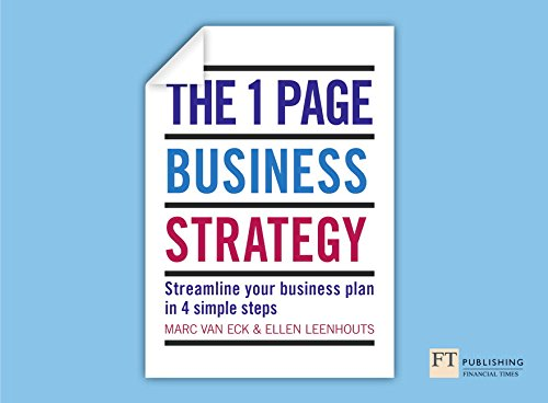 9781292009629: 1 Page Business Strategy