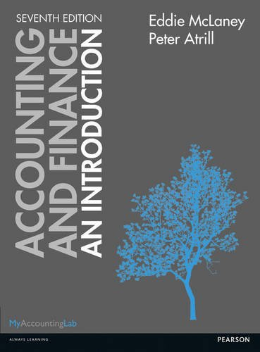 9781292012650: Accounting & Finance an Introduction, 7th ed.