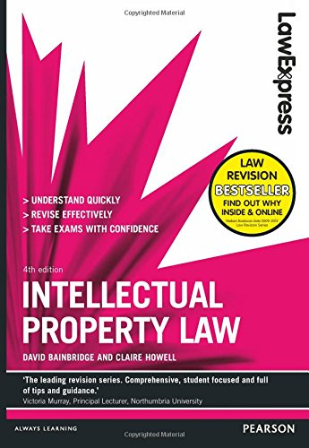 9781292012780: Law Express: Intellectual Property Law