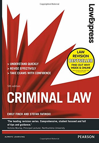 9781292012841: Law Express: Criminal Law (Revision Guide)