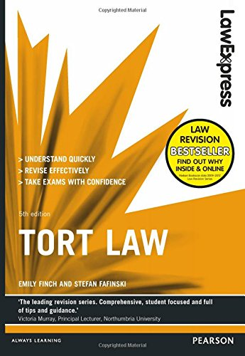 9781292012865: Law Express: Tort Law