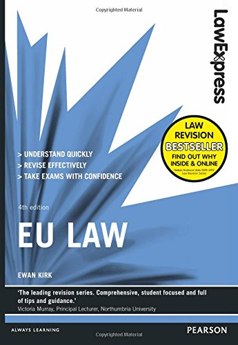 9781292012896: Law Express: EU Law (Revision Guide)