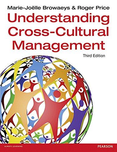 Understanding Cross-Cultural Management 3rd edn (3rd Edition): Price, Roger,Browaeys, Marie-Joelle,Browaeys,
