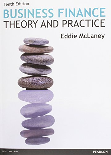 Business Finance: Theory & Practice, 10th edition: Mclaney, Eddie