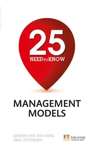 9781292016351: 25 Need-To-Know Management Models