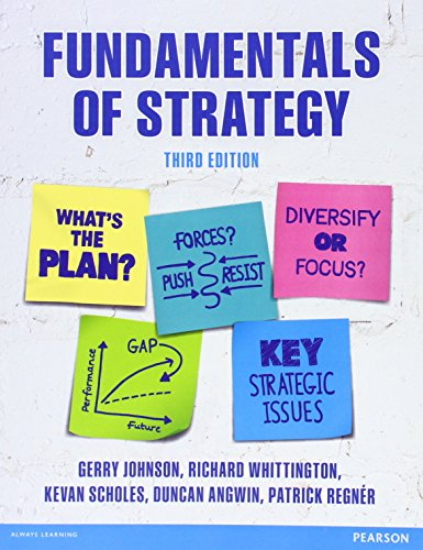 9781292017211: Fundamentals of Strategy, 3rd ed.