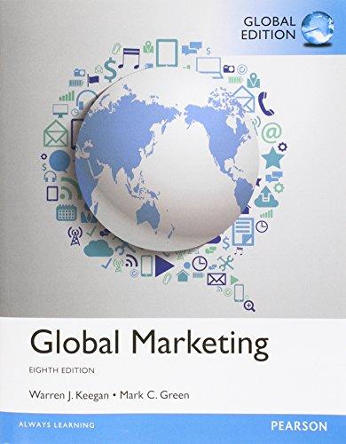 9781292017389: Global Marketing, Global Edition
