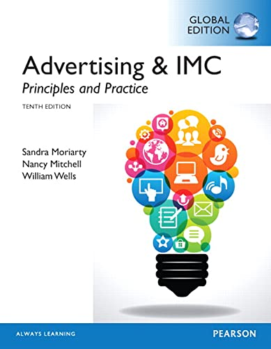 9781292017396: Advertising & IMC: Principles and Practice, Global Edition