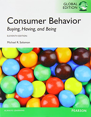 Consumer Behavior: Solomon, M. R.