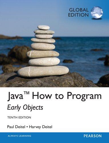Java How to Program (Early Objects): DEITEL