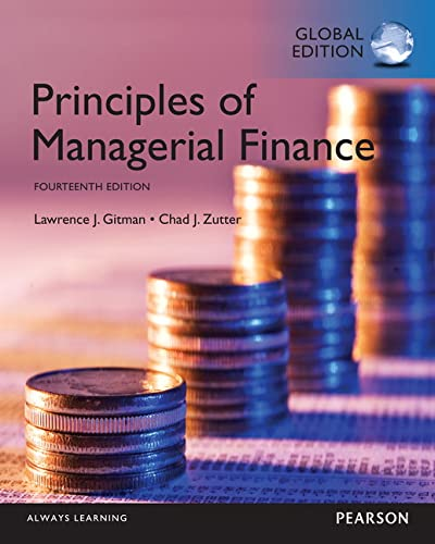 Principles of Managerial Finance: GITMAN