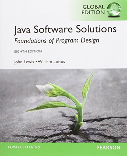 9781292018232: Java Software Solutions: Global Edition