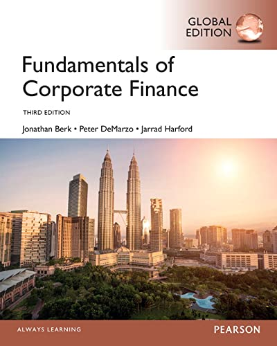 9781292018409: Fundamentals of Corporate Finance, Global Edition