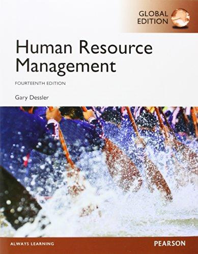 Human Resource Management, Global Edition: Gary Dessler