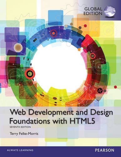 9781292019437: Web Development and Design Foundations with HTML5, Global Edition