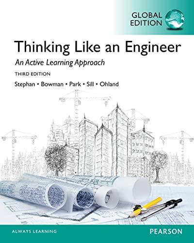 9781292019451: Thinking Like an Engineer, Global Edition