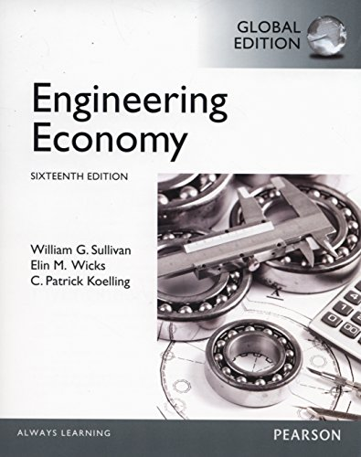 9781292019499: Engineering Economy: Global Edition