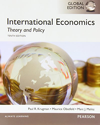 9781292019550: International Economics: Theory and Policy, Global Edition
