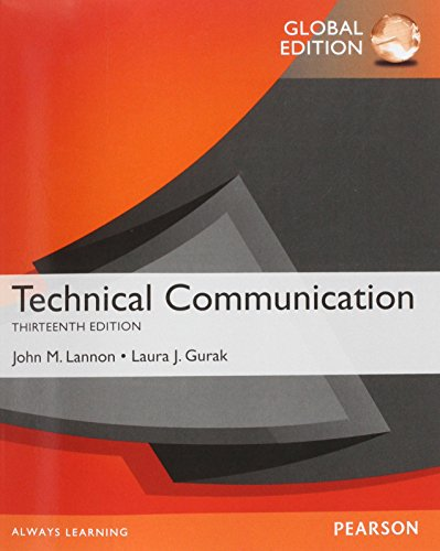 9781292019567: Technical Communication, Global Edition
