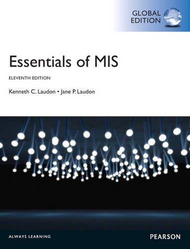 9781292019574: Essentials of MIS, Global Edition