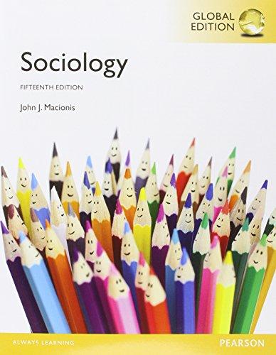 9781292019581: Sociology, Global Edition
