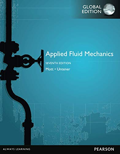 9781292019611: Applied Fluid Mechanics, Global Edition