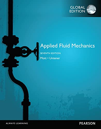 9781292019611: Applied Fluid Mechanics, Global Edition