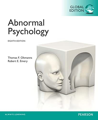 9781292019635: Abnormal Psychology, Global Edition